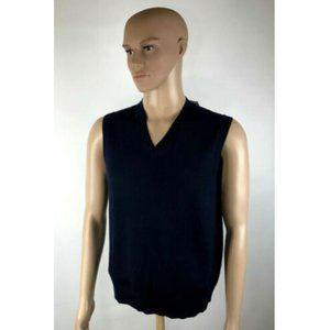 New Gap Sweater Vest 100% Italian Merino Wool  NWT